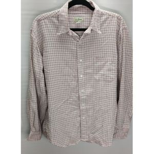 LL Bean men's button up